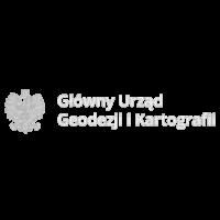 Logo GUGiK white