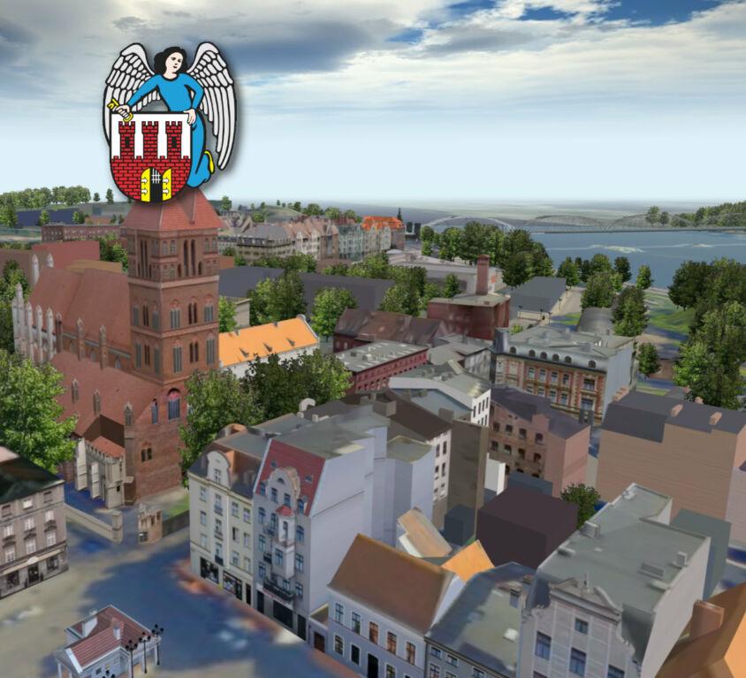 Toruń 3D – wirtualny spacer po mieście