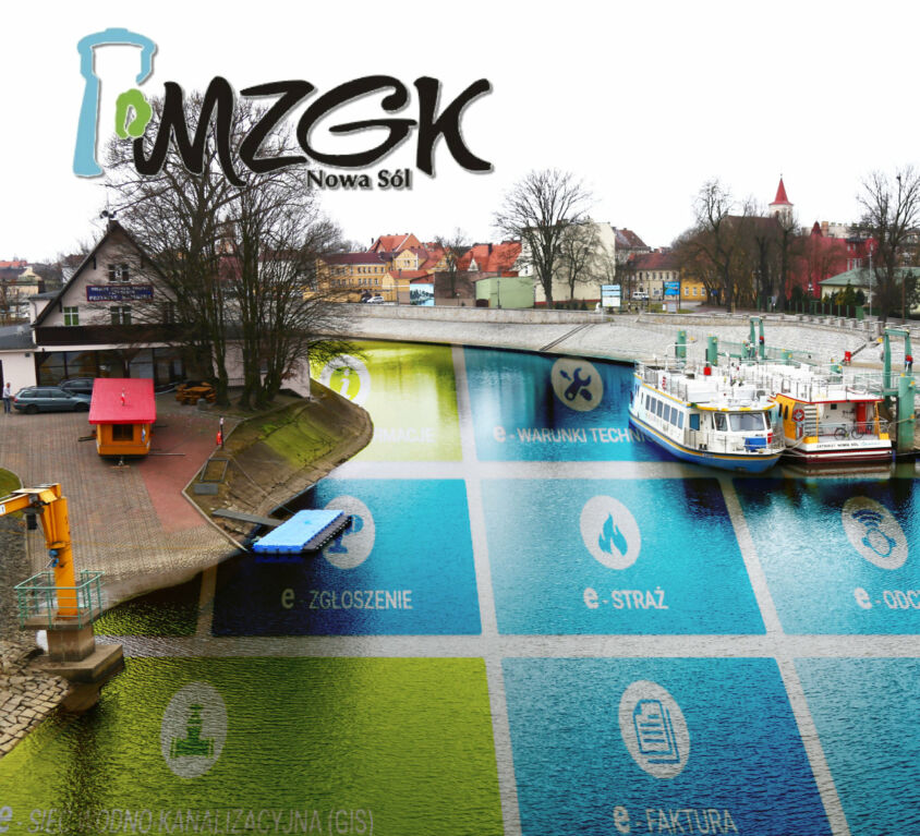 MZGK Nowa Sól – zintegrowany e-bok i GIS